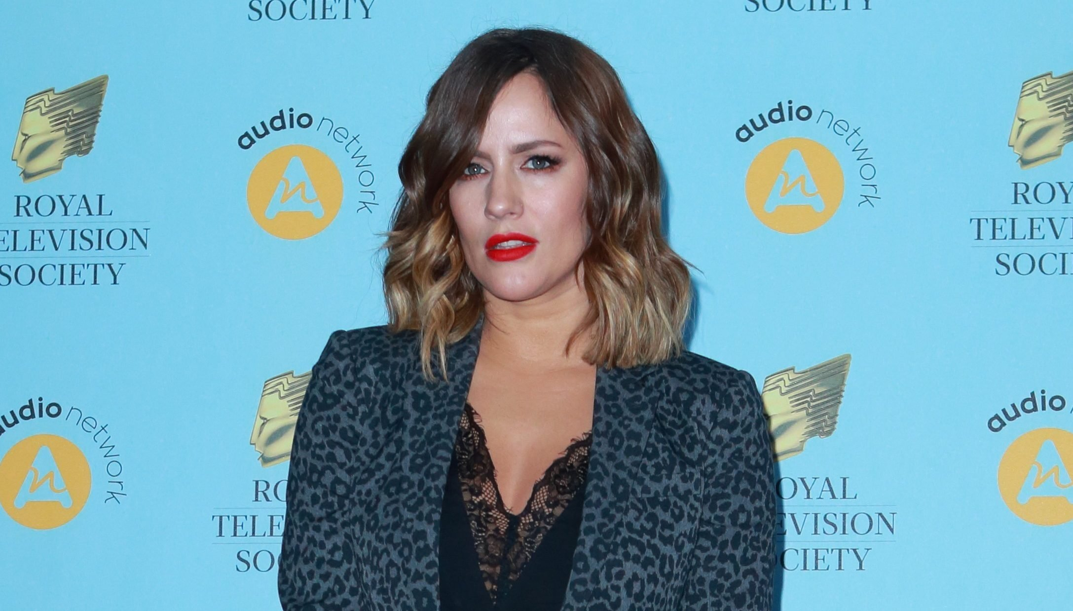 Caroline Flack hits back at speculation about split from fiancé Andrew Brady