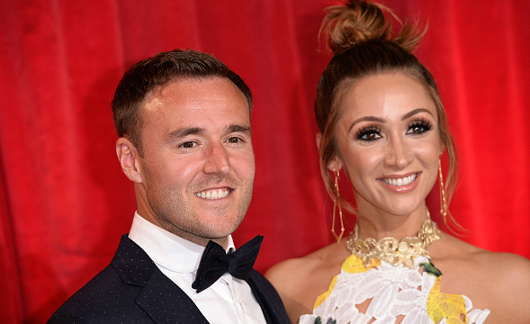 Lucy-Jo Hudson 'moves in with boyfriend six months after Alan Halsall split'