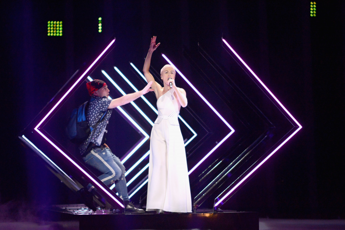 Was Eurovision invader same man who crashed The Voice?