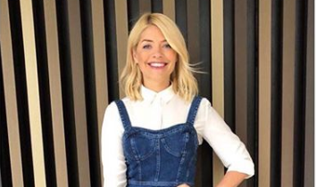 Holly Willoughby celebrates sister's 40th birthday