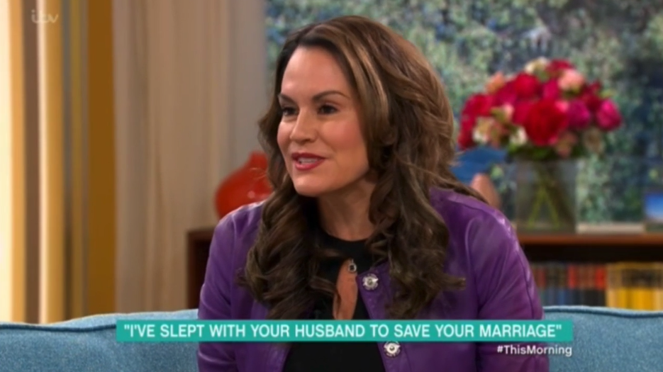 This Morning guest claims she's slept with 100 married men