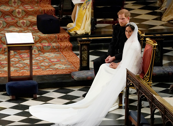 Harry and Meghan married on Saturday at St. George's Chapel