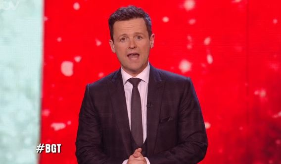 Dec Donnelly's message to fans after BGT semis