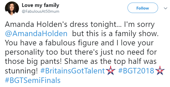 Stage invader storms Britain's Got Talent semi-final and scares Amanda Holden