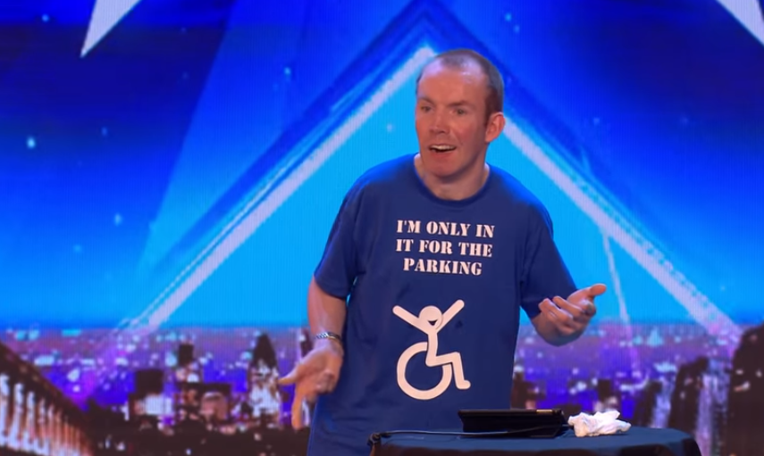 Britain's Got Talent favourite Lost Voice Guy suffers nasty fall ahead of final