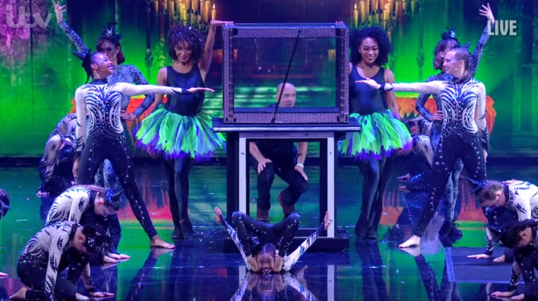 BGT brings back swearing crew member in hilarious opening performance