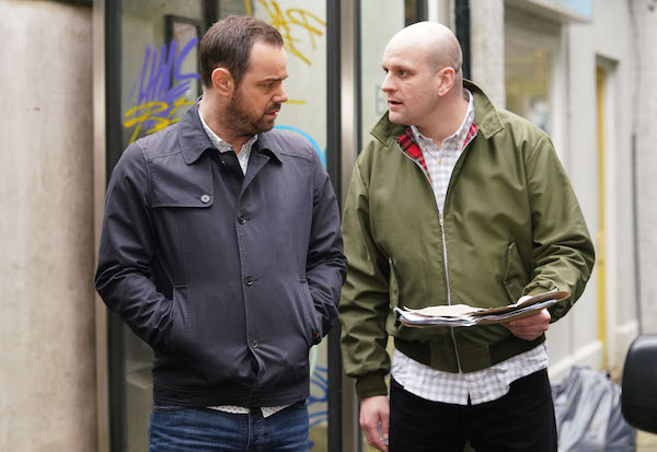 EastEnders' Danny Dyer reveals the truth about working with Ricky Champ
