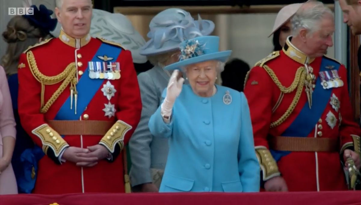 Queen delights crowd as she celebrates 92nd birthday