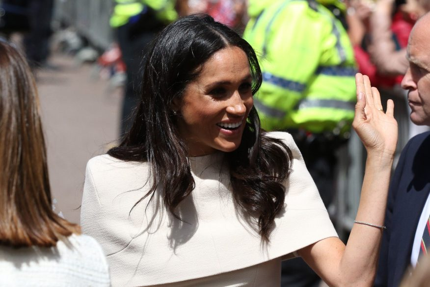Prince Harry Saved Meghan From An Awkward Stumble At A Family Wedding