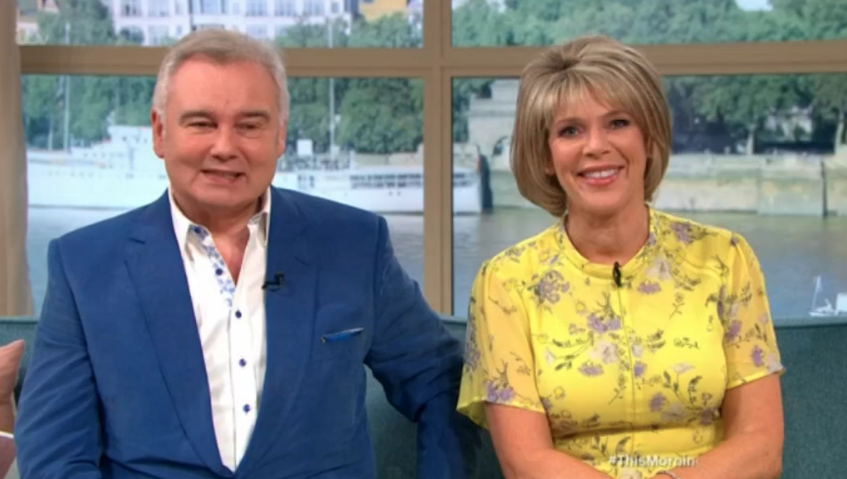 this morning 39 s eamonn and ruth in fits of laughter over. Black Bedroom Furniture Sets. Home Design Ideas