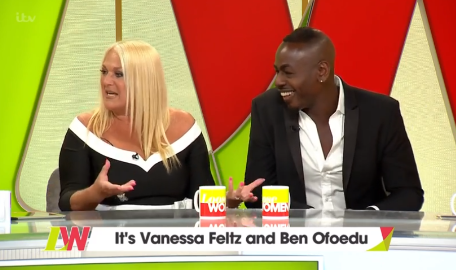 Vanessa Feltz's fiancé has NEVER seen her without makeup