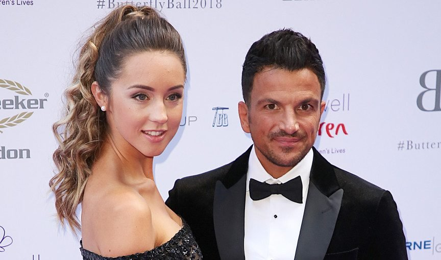 """Peter Andre tells Junior to """"concentrate on school"""" over rapping career"""
