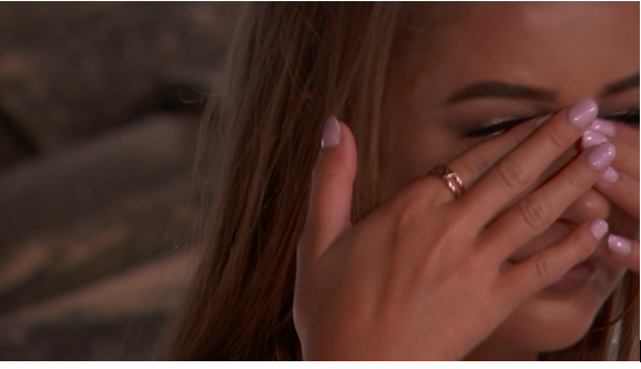 Love Island SPOILER: Georgia's tears over Josh