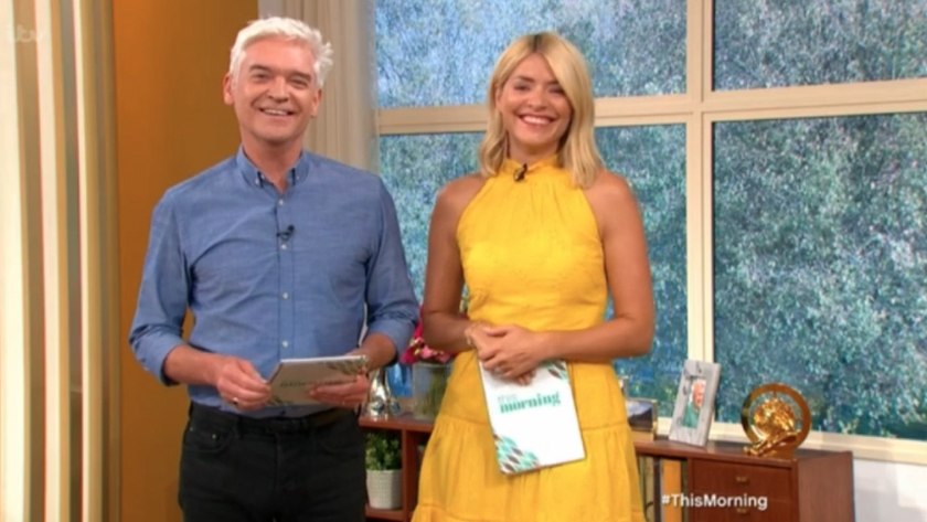 Phil leaves Holly in hysterics after making cheeky innuendo about Kelly Brook