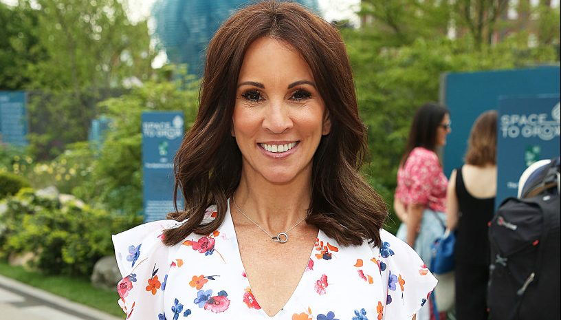 loose women 39 s andrea mclean shares rare pic of son finlay. Black Bedroom Furniture Sets. Home Design Ideas
