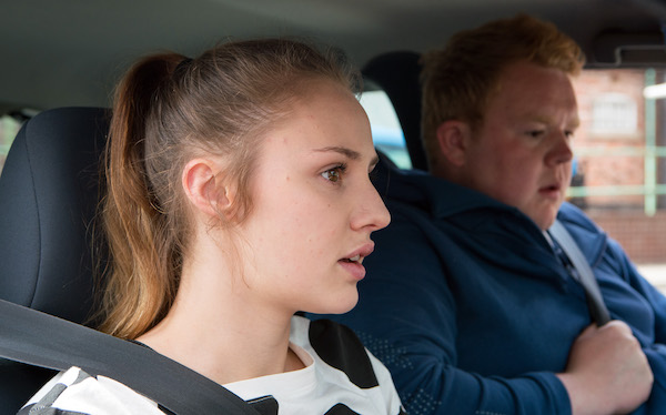 "Corrie SPOILER: Kayla causes car crash as ""she's out to destroy Craig"""