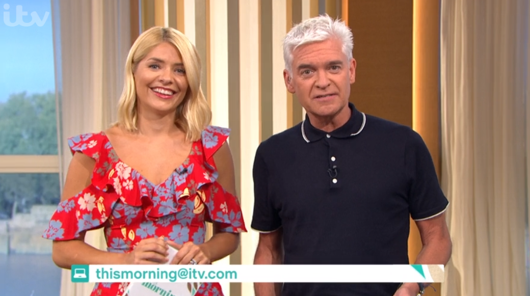 Holly Willoughby shares fun-filled holiday photos with Phillip Schofield