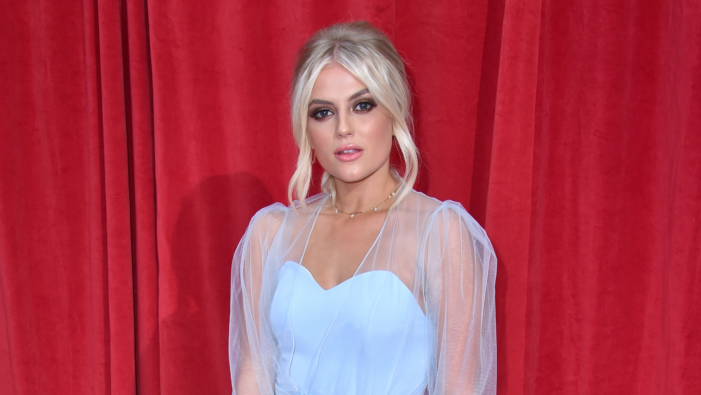 Lucy Fallon unveils stunning hair transformation
