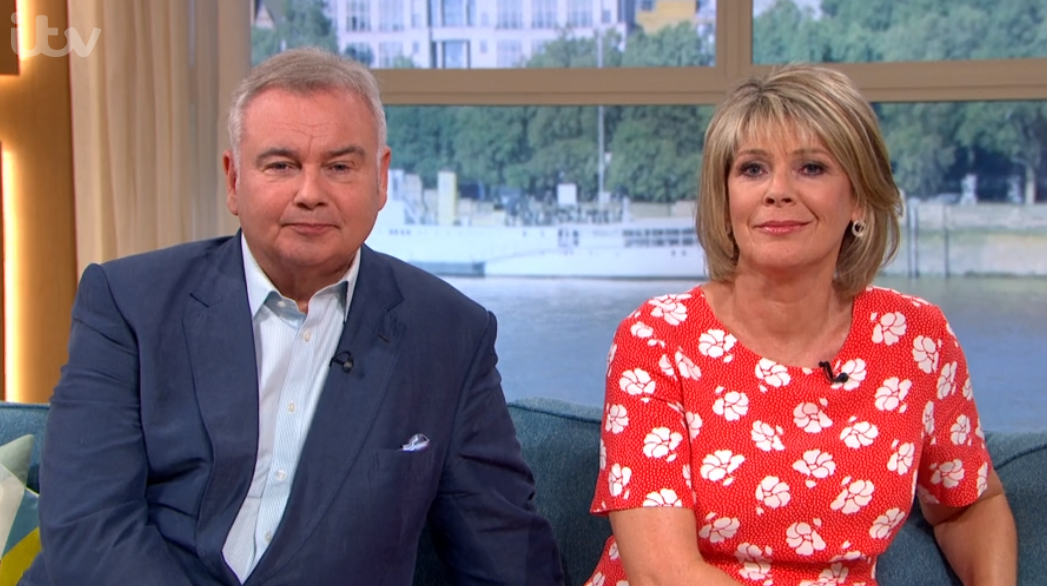 Piers Morgan pokes fun at Eamonn Holmes' blunder on This Morning