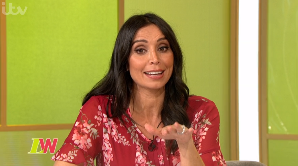 "Christine Lampard admits she would ""inflict pain"" on hubby Frank if he ever cheated"