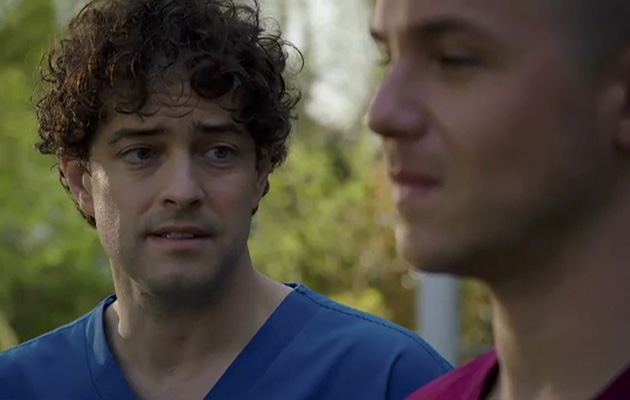 Holby City SPOILER: Lofty proposes to Dom - but does he say yes?