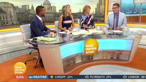 Good Morning Britain stars amuse one another with throwback snaps