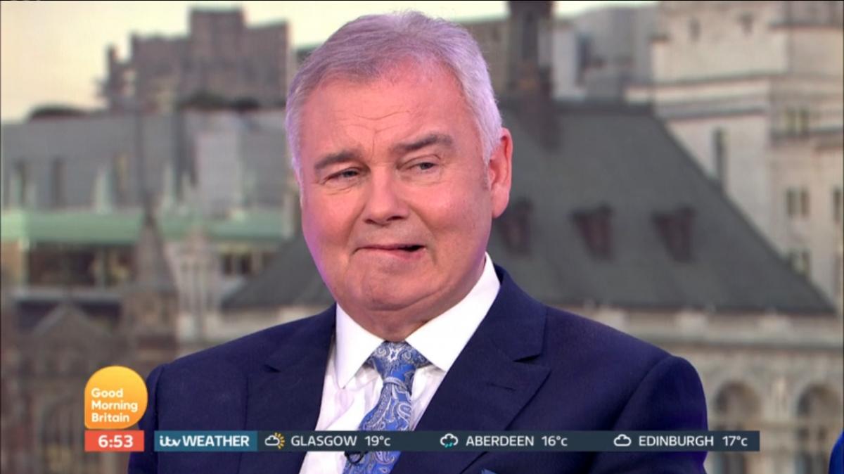 Grumpy Eamonn Holmes properly mugged off on Good Morning Britain