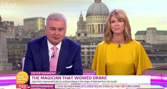 Good Morning Britain viewers rumble magician thanks to camera gaffe