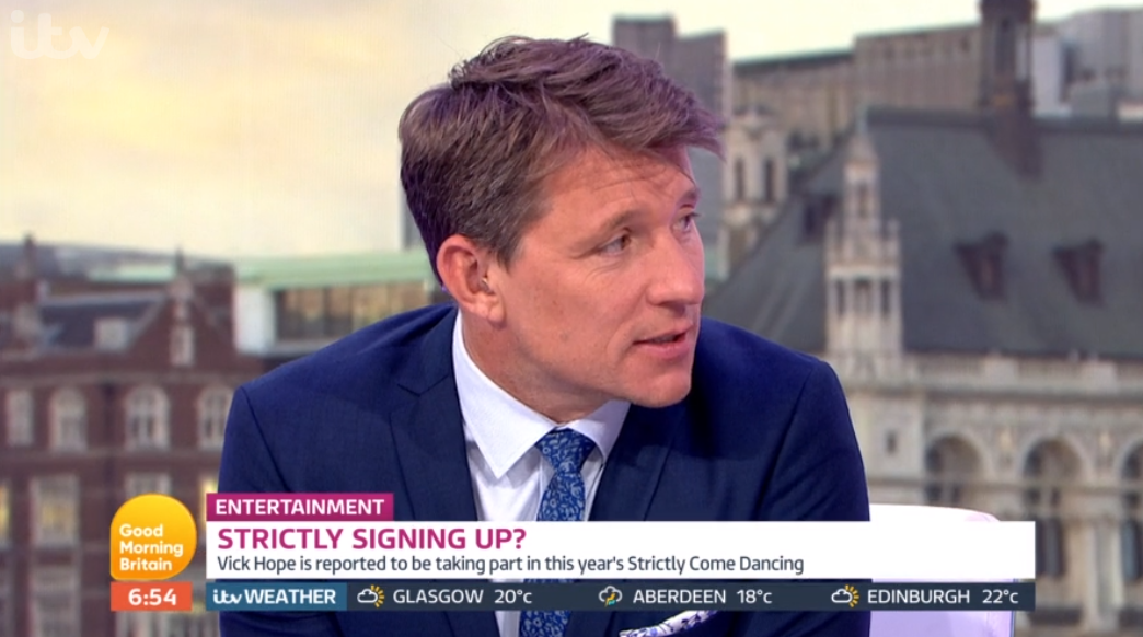 Presenter Ben Shephard reveals he once had a cameo on 'Friends'