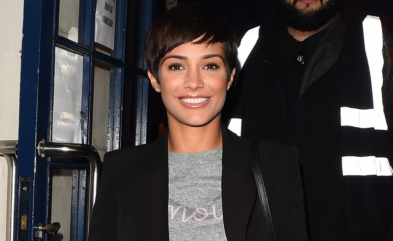 "Strictly's Frankie Bridge shares sweet ""very modern family"" bedtime pic"