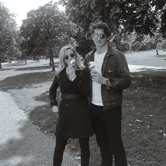 Ellie Goulding is engaged to art dealer Caspar Jopling