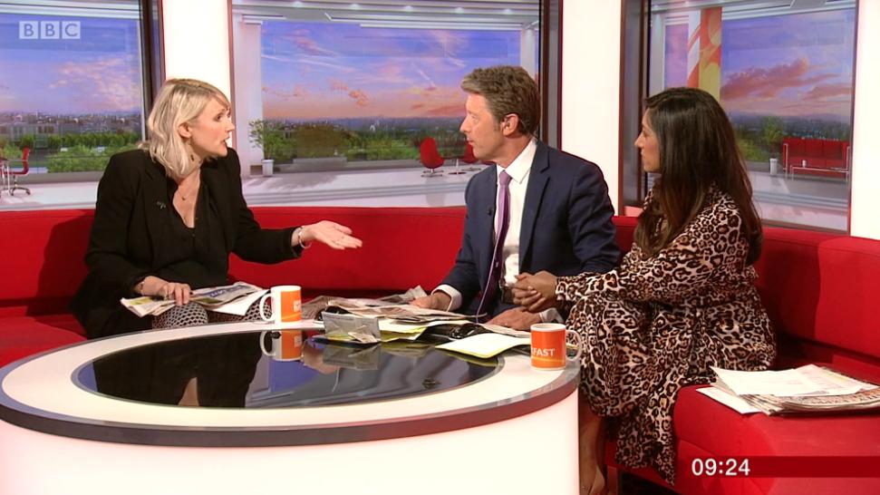 Viewers slam 'grumpy' BBC Breakfast host for blanking guest