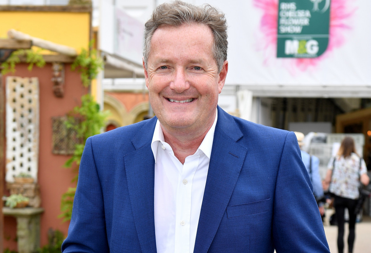Piers Morgan Shares Beautiful Holiday Photo With All Three