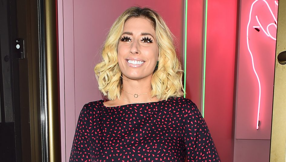 Stacey Solomon is getting hairy for Movember