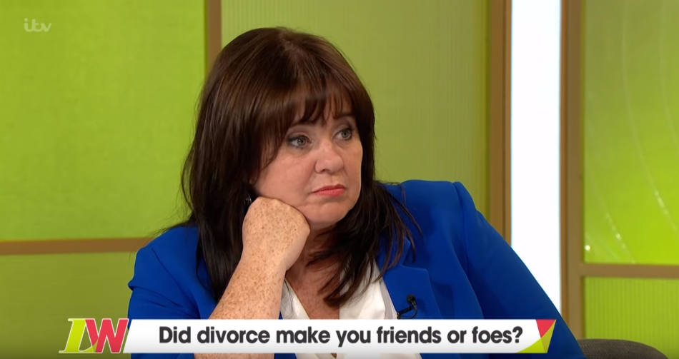 Coleen Nolan and estranged husband Ray friends again after split