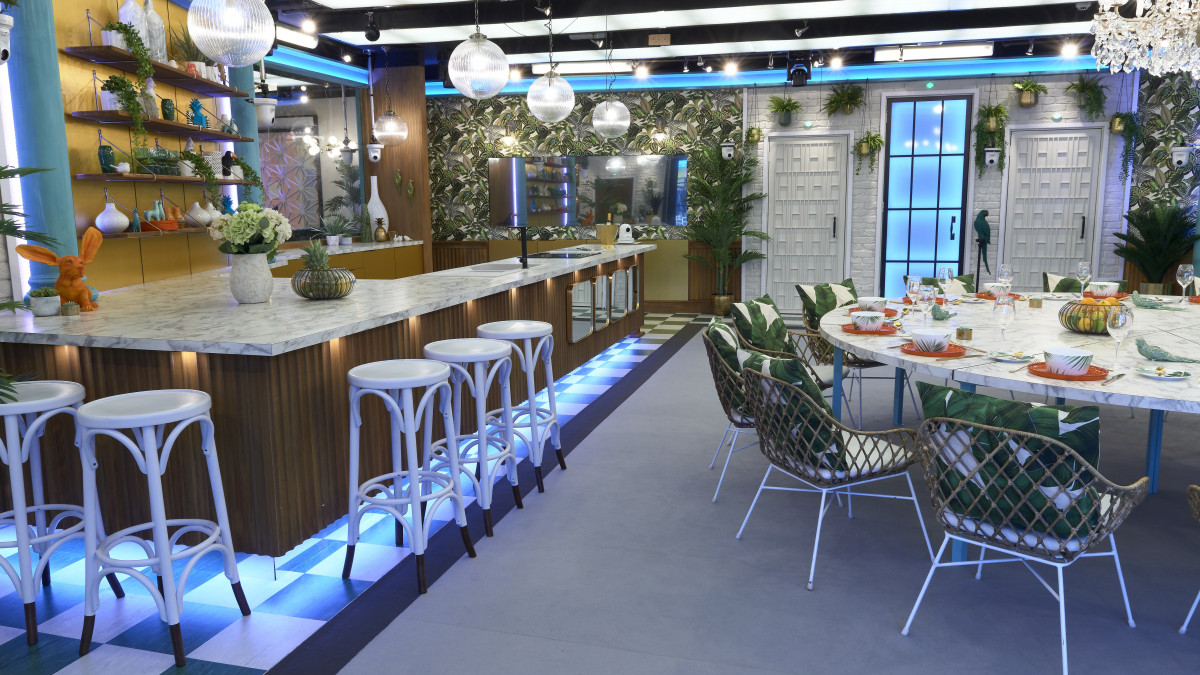 Inside Celebrity Big Brother's brand new tropical-themed house