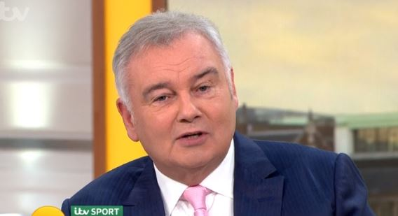 "Eamonn Holmes thanks Jonnie Peacock for ending Strictly ""torture"""