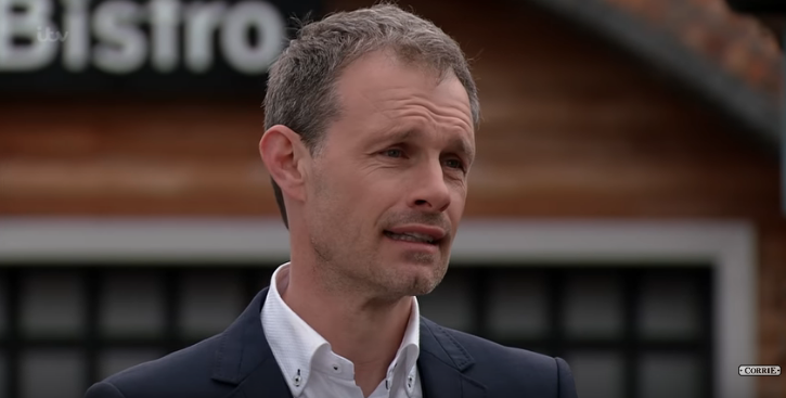 Corrie fans react as first pic of Nick Tilsley back on set emerges