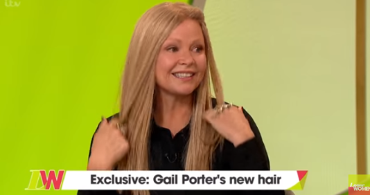 Gail Porter reveals rule for finding love after trying first wig in 13 years