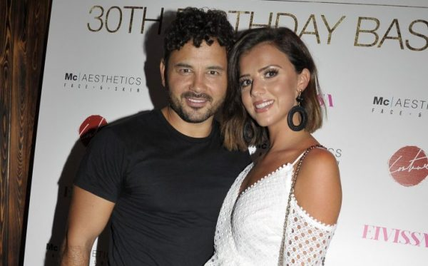 Ryan Thomas' girlfriend Lucy Mecklenburgh says it's time to leave Roxanne Pallett alone