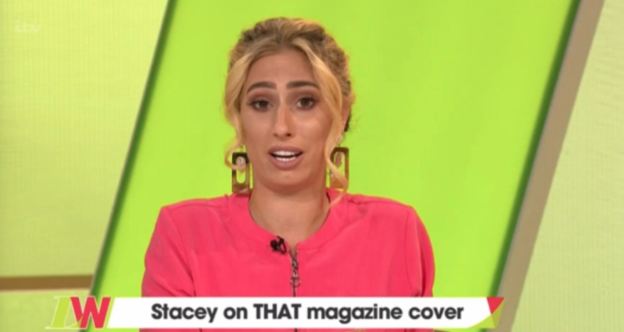 Stacey Solomon slams magazine's 'boring, desperate and cheap' headline