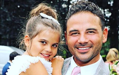 Ryan Thomas' daughter sends sweet message as he battles through CBB hell