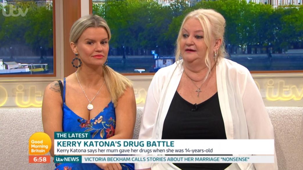Kerry Katona's mum explains why she gave daughter drugs aged 14