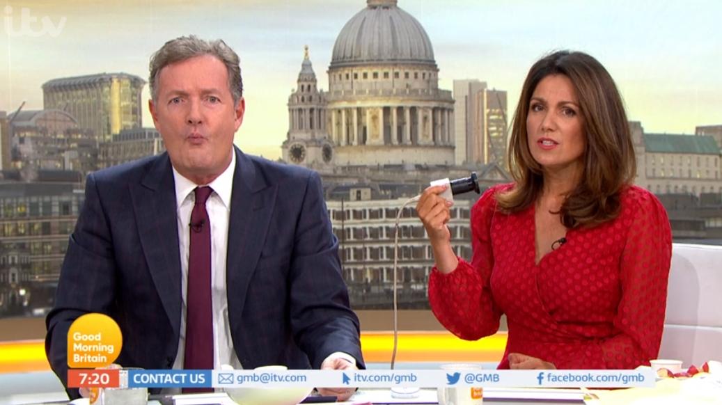 "Piers Morgan calls Susanna Reid ""hot"" as she reveals incredible weight loss"