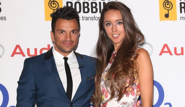 Peter Andre's wife Emily reveals they don't drink