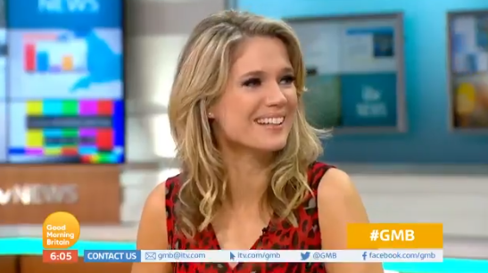 Charlotte Hawkins makes hilarious dig at Piers Morgan live on GMB