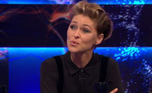 Emotional Emma Willis holds back tears discussing BB axe on live TV