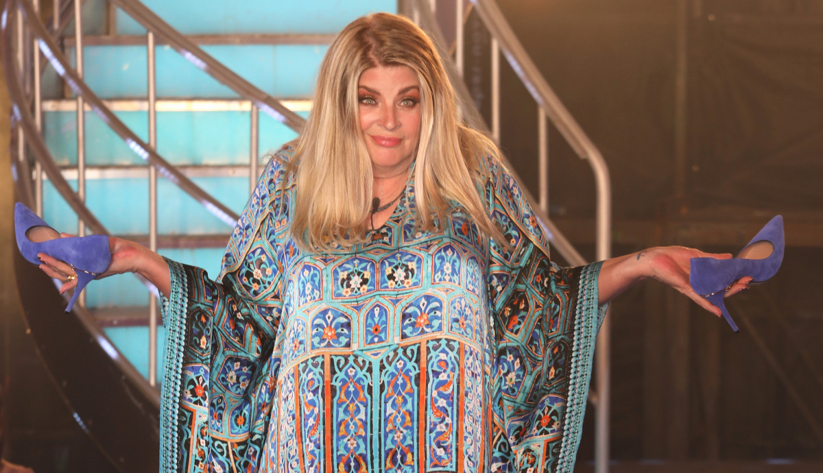 Kirstie Alley makes very cheeky comment about Ryan Thomas' brother Scott