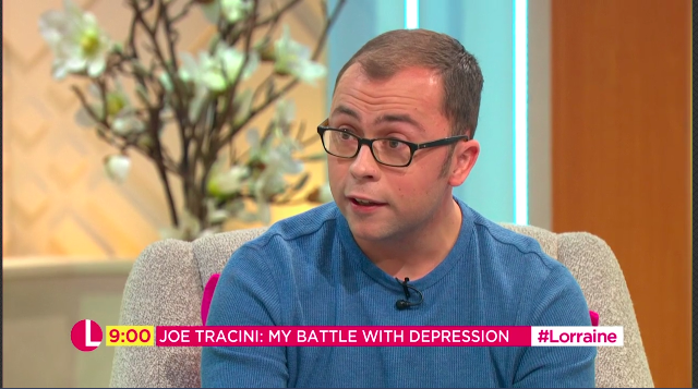 Ex-Hollyoaks star Joe Tracini on battle with depression and suicidal thoughts