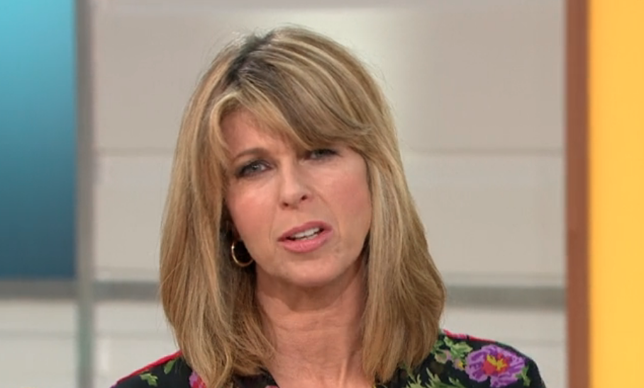Kate Garraway admits she plucked her eyebrows on a train